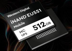 Western Digital представляет второе поколение универсальных флеш-накопителей для мобильных устройств UFS 3.1