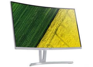 Acer представила монитор ED273UP с изогнутым экраном