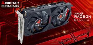 BIOSTAR анонсировала новую видеокарту BIOSTAR AMD Radeon RX 6600 XT