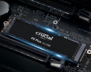 Новые SSD Crucial P5 Plus от Micron с поддержкой PCIe Gen4