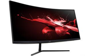 Acer представила игровой монитор Nitro EI292CURP