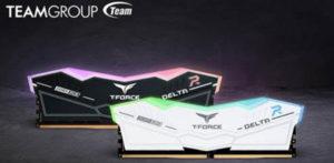 Компания TEAMGROUP выходит на рынок с оперативной памятью T-FORCE DELTA RGB DDR5