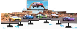 HP представляет новую линейку игровых мониторов HP Series X