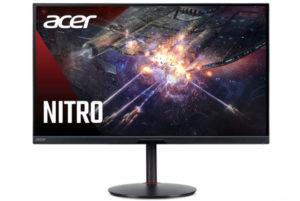 Acer представила на российском рынке игровой монитор Nitro XV282KKV