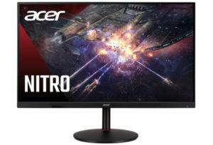 Современный и безрамочный: Acer представила игровой монитор Nitro XV322QUKV