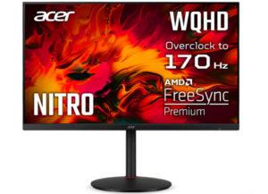 Серия игровых мониторов ACER Nitro XV2 пополнилась недорогой 31,5-дюймовой моделью XV322QUP