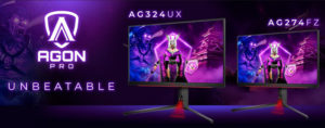 Испытайте легендарный геймплей: новые киберспортивные мониторы AGON PRO