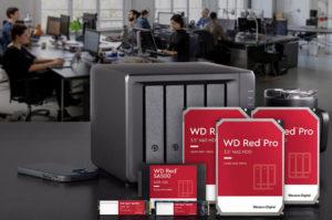 Western Digital анонсировала инновационный SSD-накопитель линейки Red с поддержкой NVMe