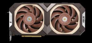 Новая видеокарта ASUS GeForce RTX 3070 Noctua Edition