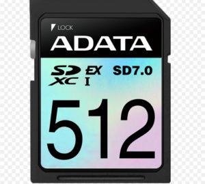 Новые карты памяти ADATA SD7.0