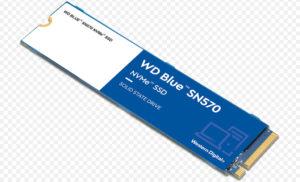 Western Digital представил новый SSD-накопитель WD Blue SN570