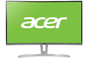 Новые мониторы Acer из линейки ED3 выходят на российский рынок
