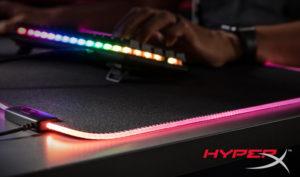 Новый коврик для мыши HyperX Pulsefire Mat RGB  сделает игровой мир ярче