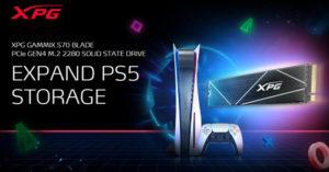 SSD от ADATA/XPG для PS5